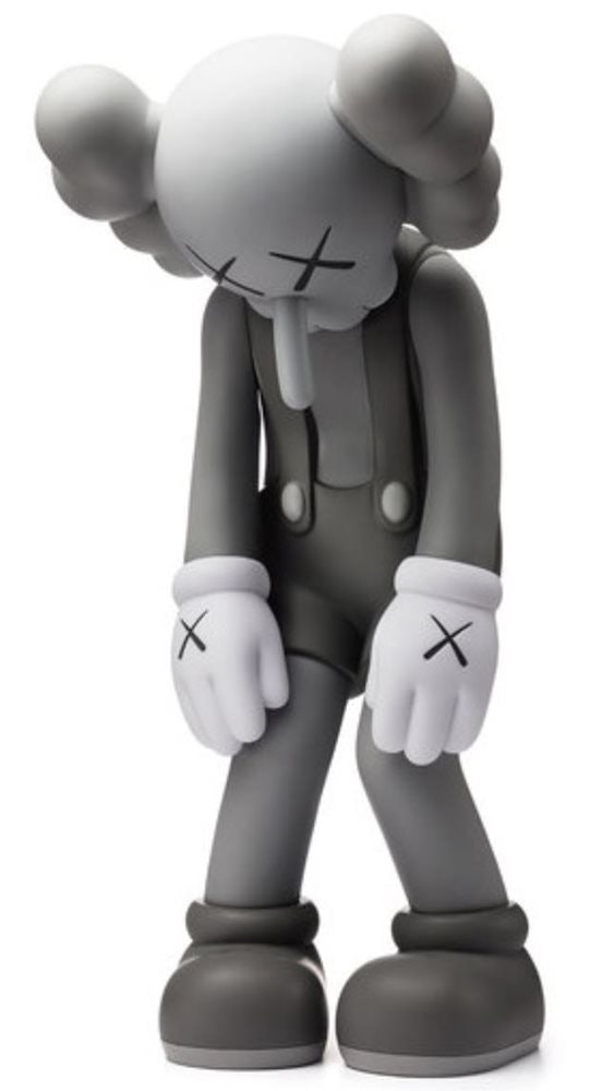 Kaws Small Lie Companion Vinyl Figure Grey