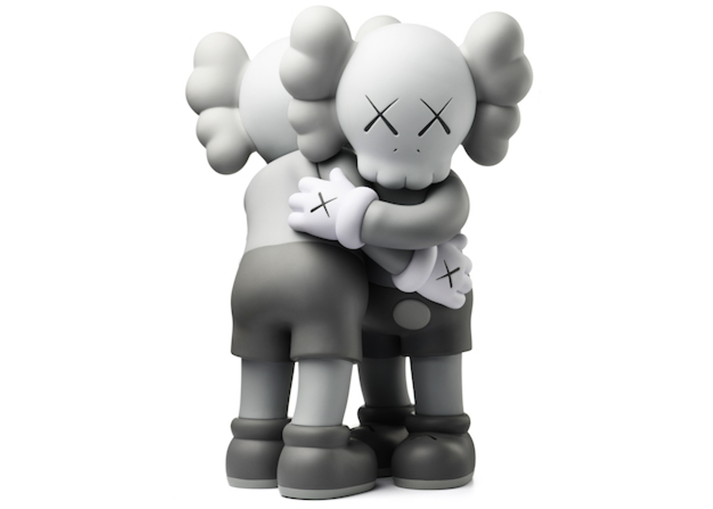 check out 6bc85 f7399 KAWS Together Vinyl Figure Grey