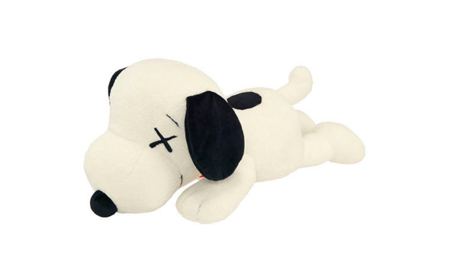 Kaws x Uniqlo x Peanuts Snoopy Plush (Large) White