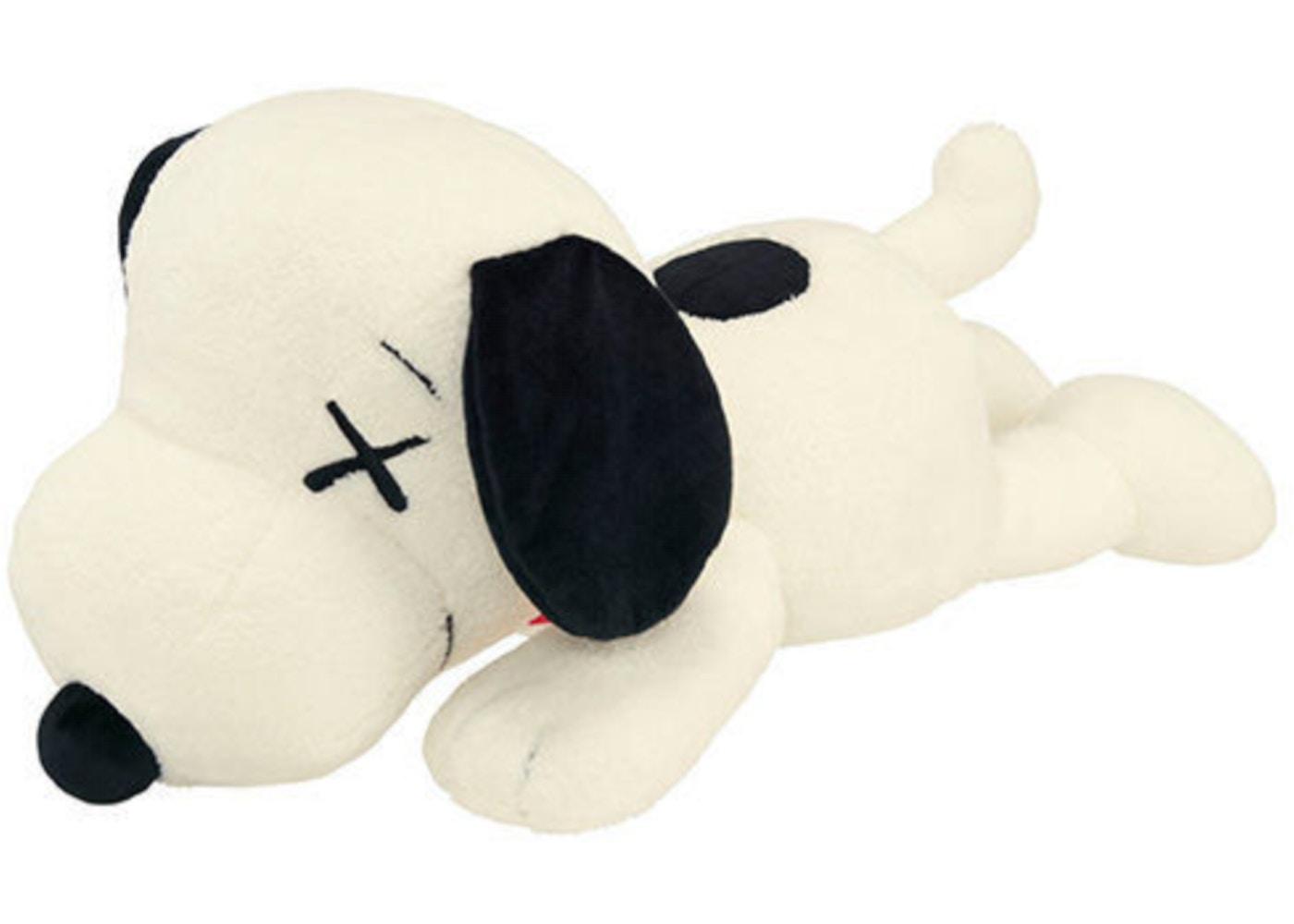 367360e2d8 Kaws x Uniqlo x Peanuts Snoopy Plush (Large) White - SS17