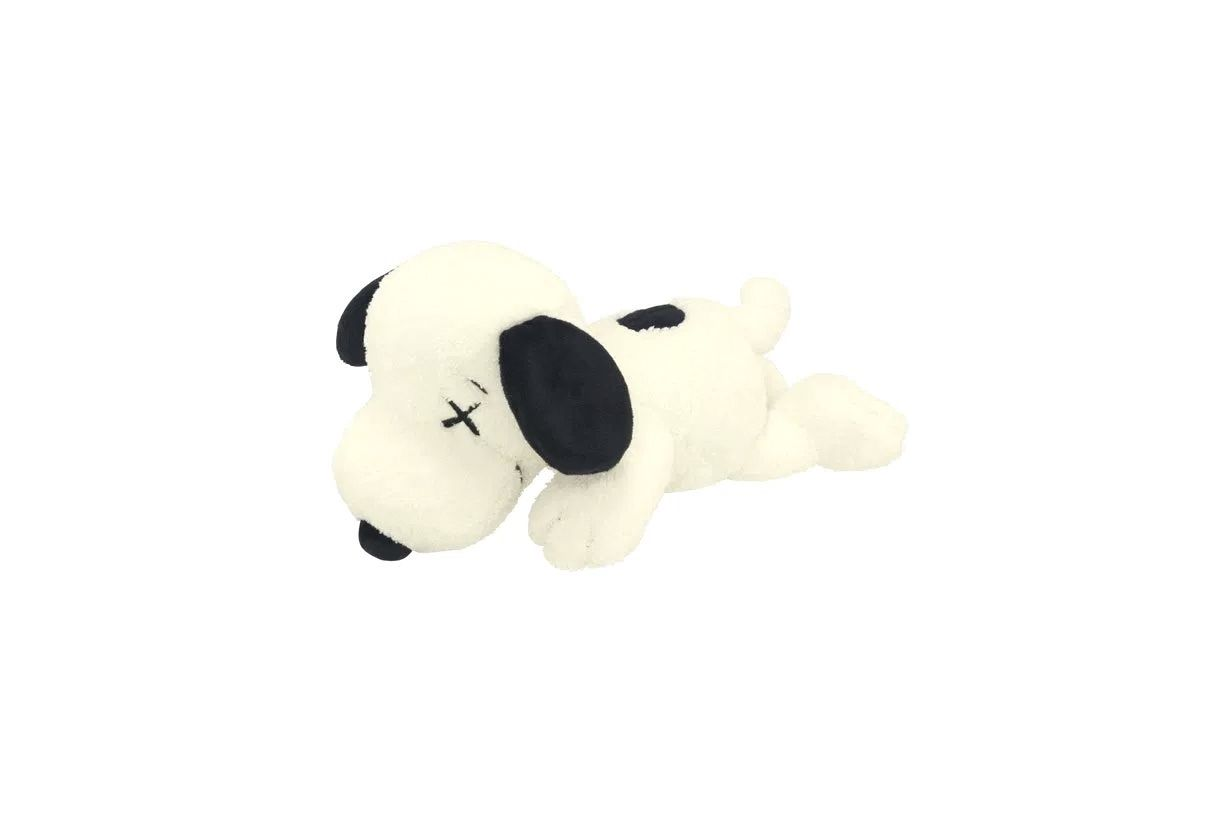 Large Uniqlo Peanuts Plush Toys Snoopy Black or White Dog Doll Limited
