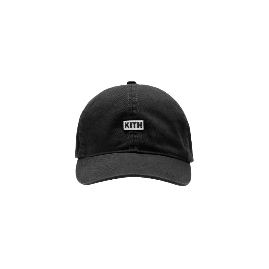 Kith BL Twill Cap Black