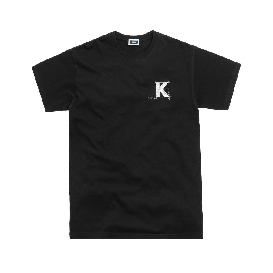 Kith Blueprint Tee Black