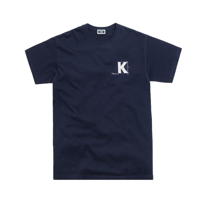 Kith Blueprint Tee Navy
