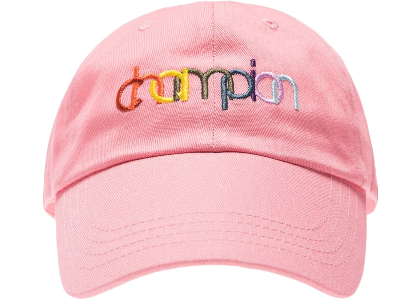 58d5c50b Kith Champion Double Logo Hat Pink - SS18