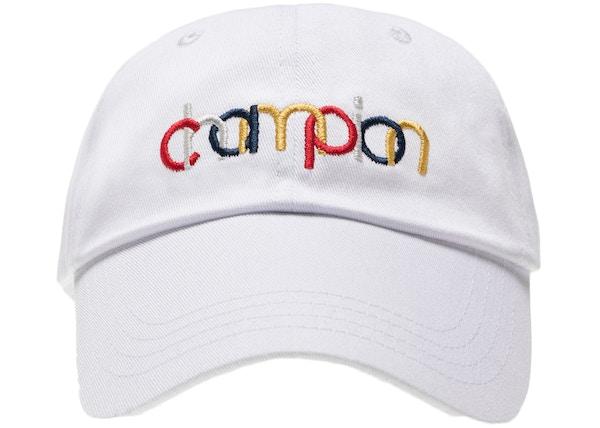 9845e8a27d1f0 Kith Champion Double Logo Hat White