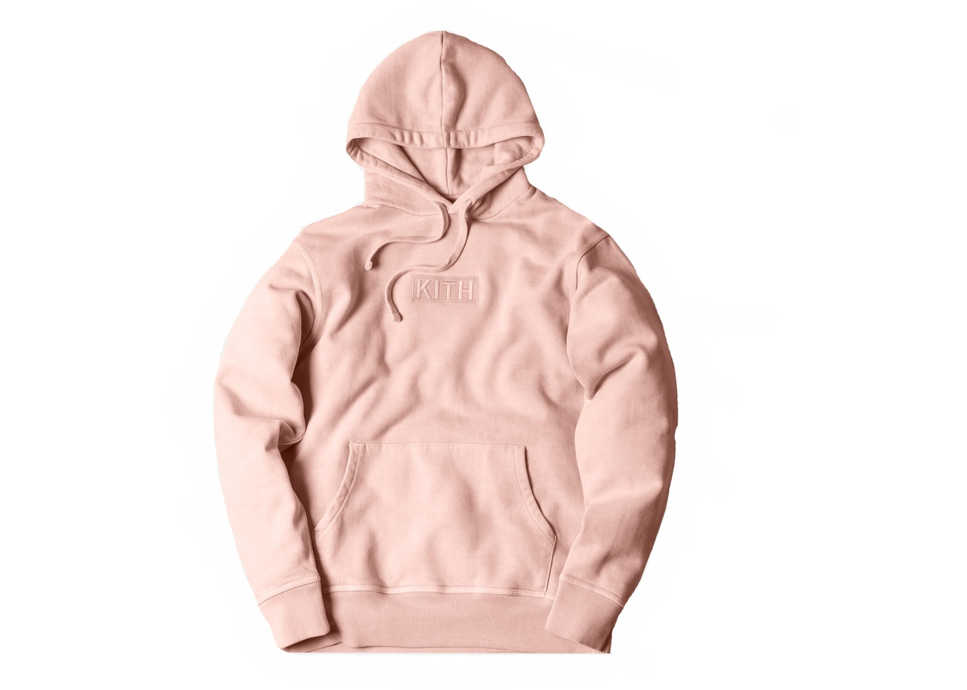 64be6453 Kith Classic Logo Hoodie Pink - FW17