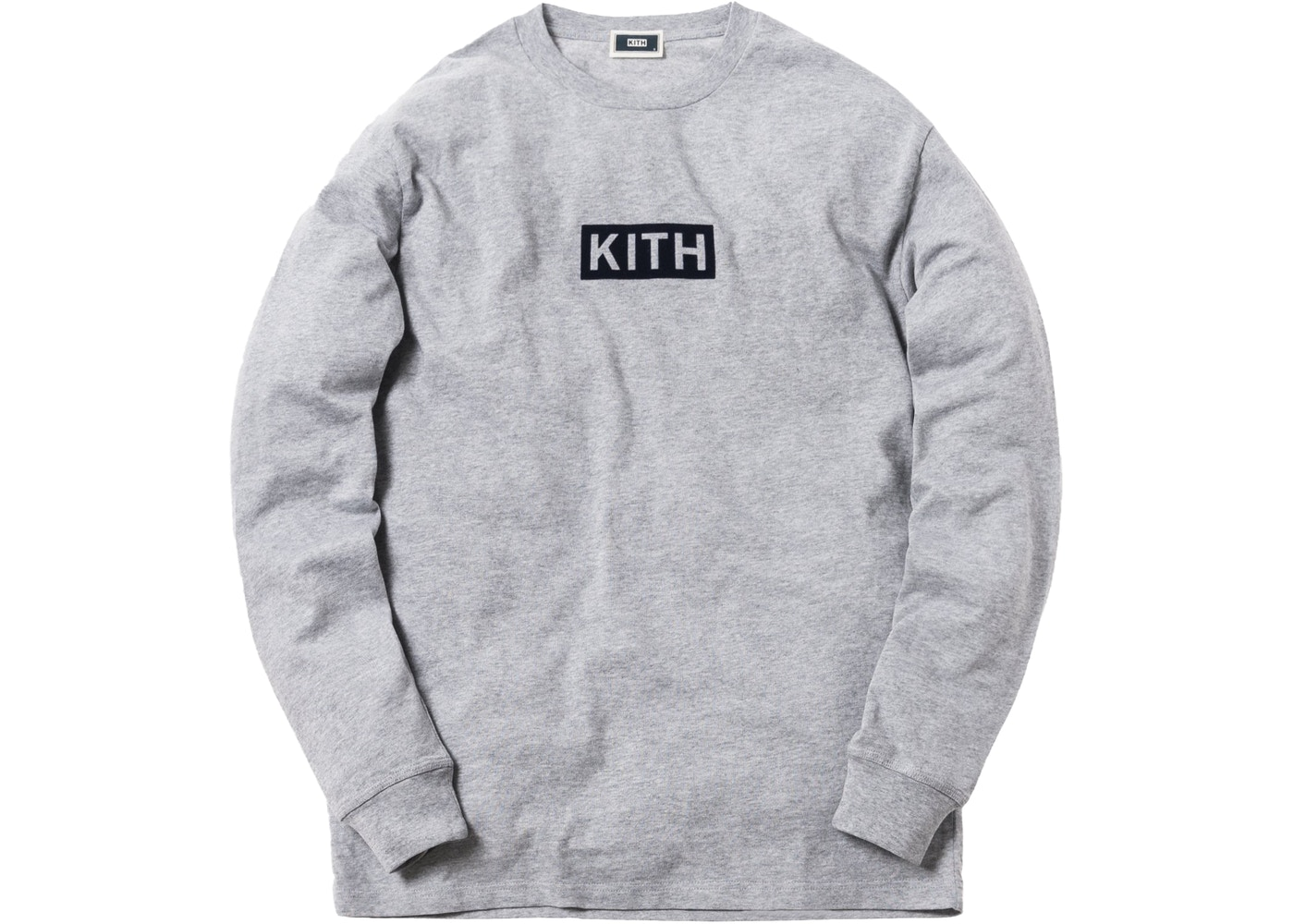 daa8fcf6 Sell. or Ask. Size L. View All Bids. Kith Classic Logo L/S Tee Heather Grey