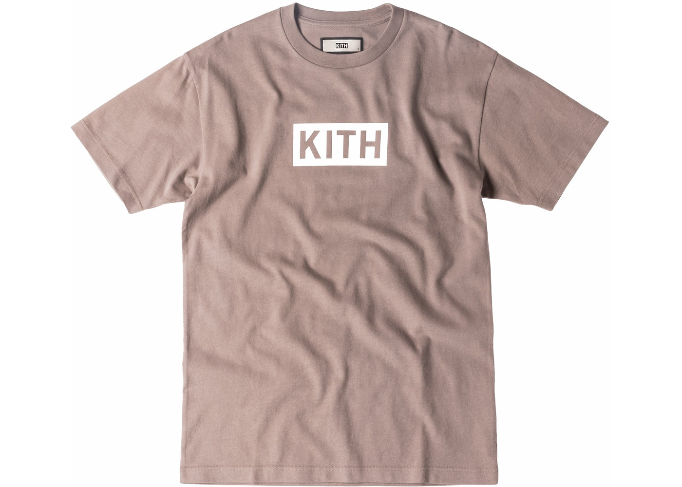 Kith Classic Logo Tee Cinder by Stock X