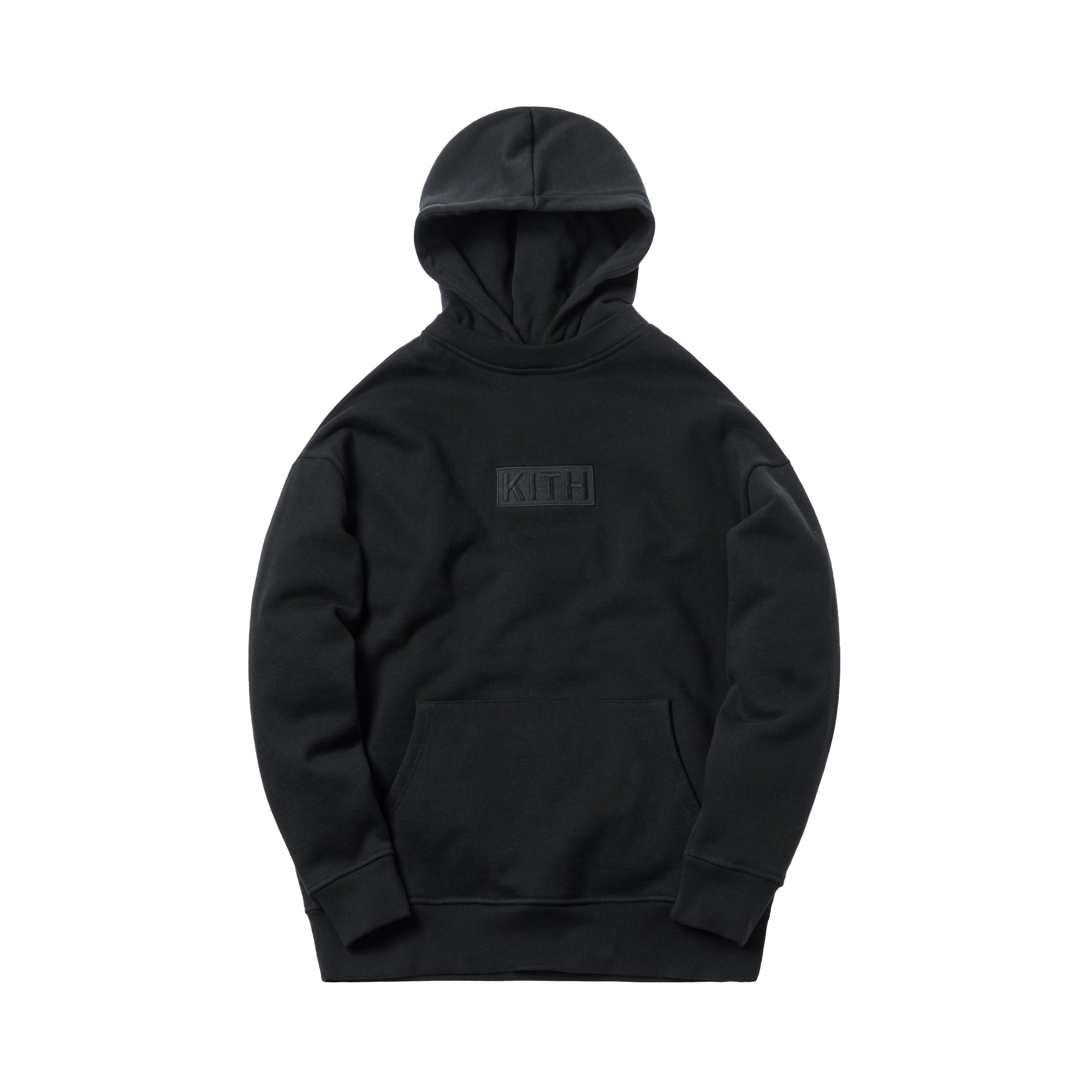 Kith Classic Logo Williams II Hoodie Black