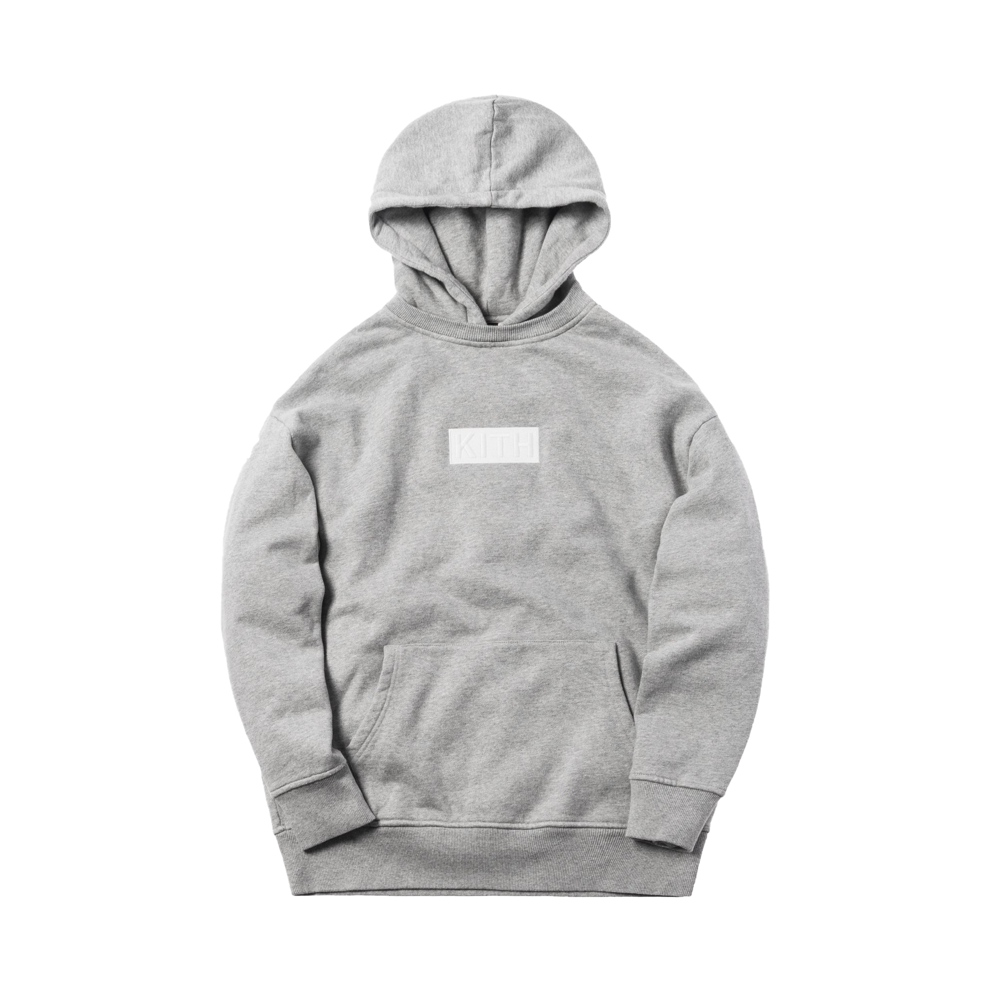 Kith Classic Logo Williams II Hoodie Heather Grey