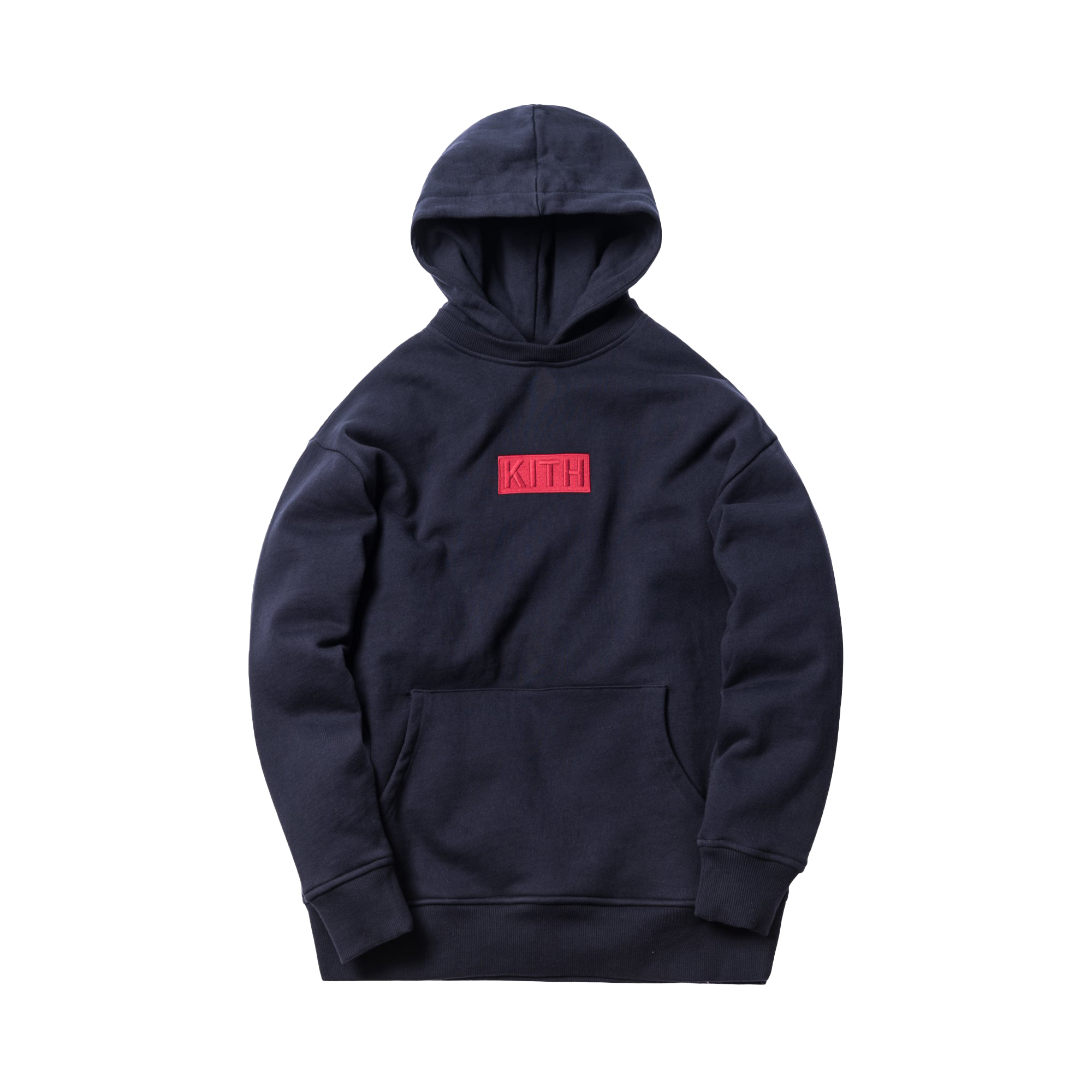 Kith Classic Logo Williams II Hoodie Navy