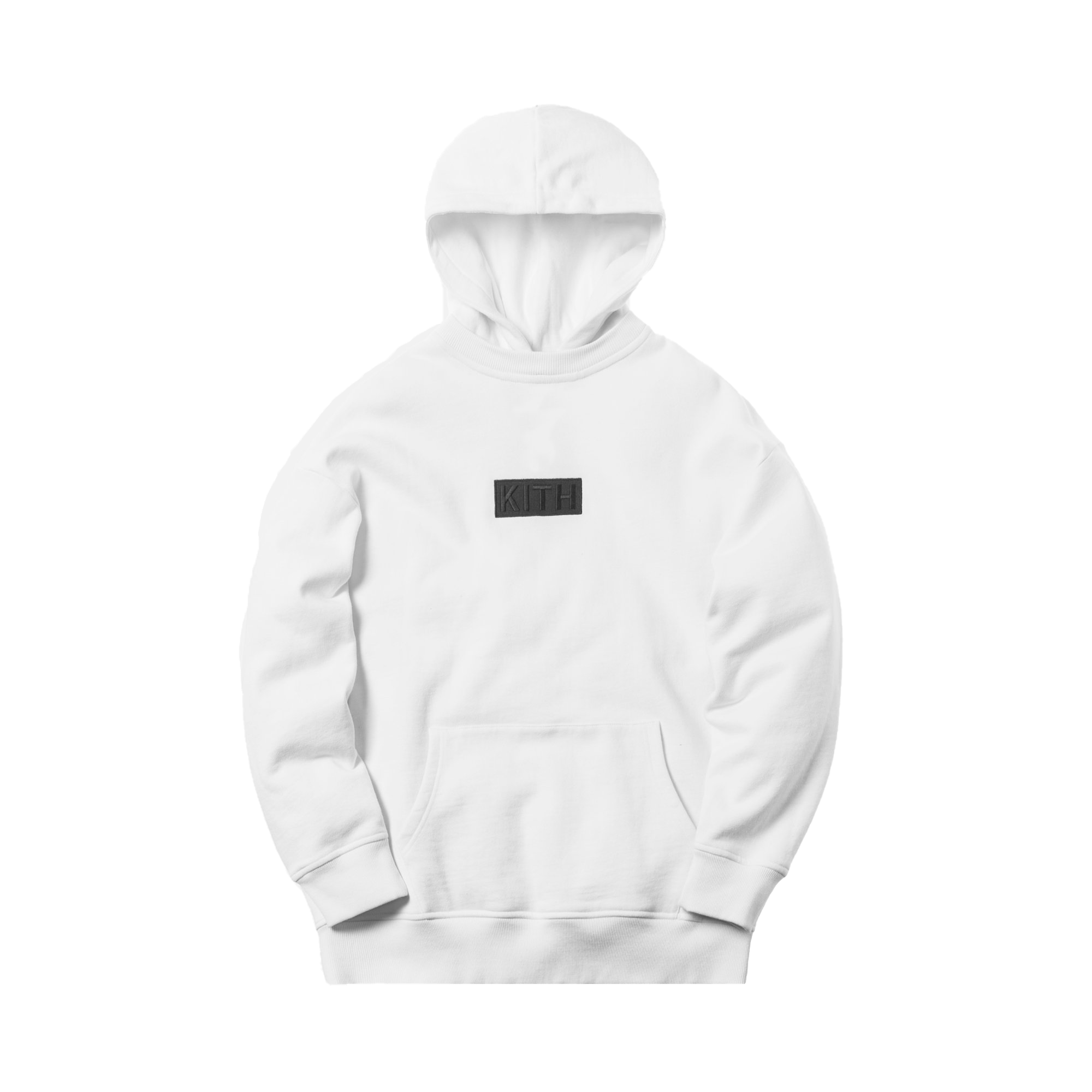 Kith Classic Logo Williams II Hoodie White
