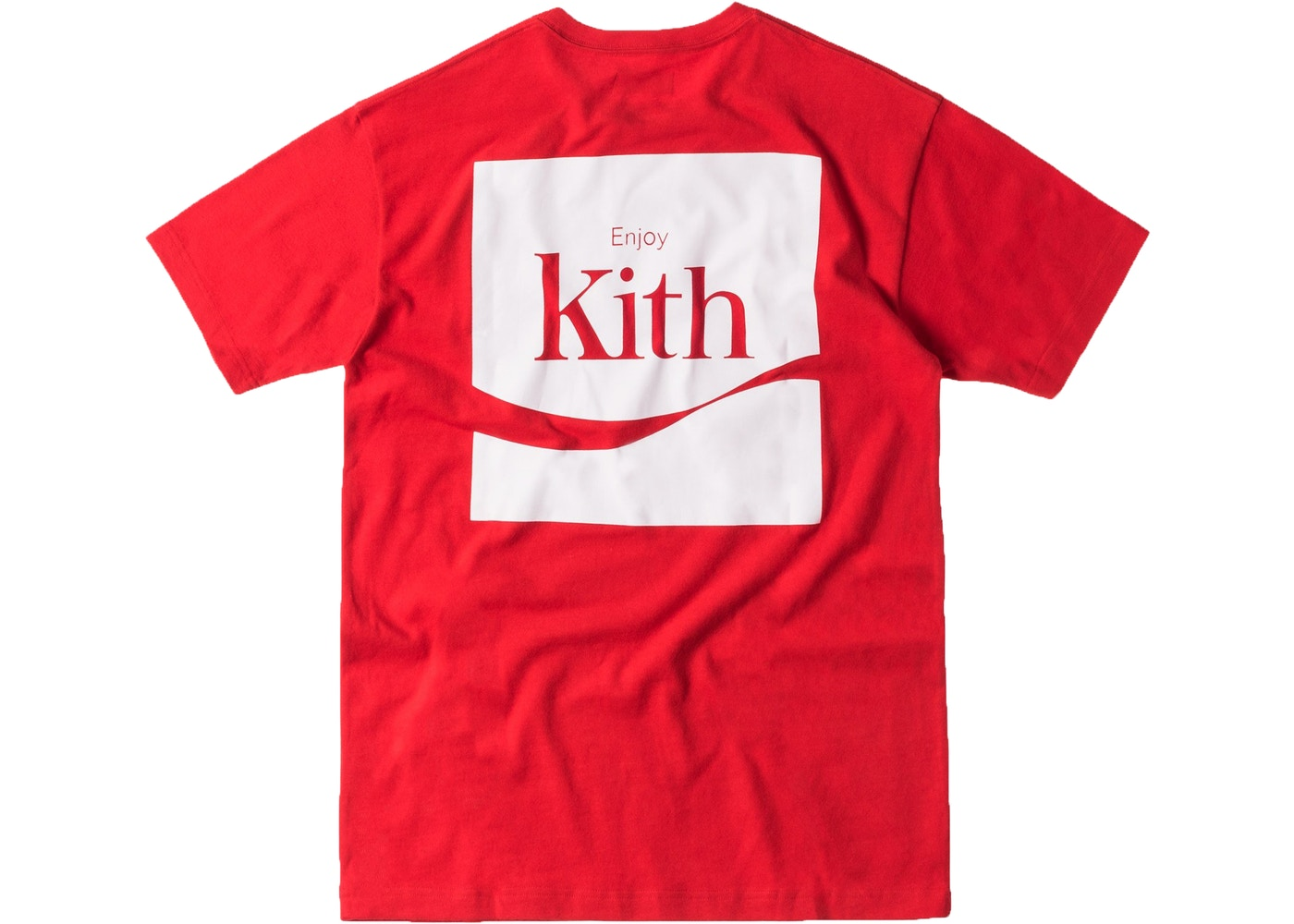24febdca230c8 Kith Coca Cola Enjoy Tee Red - SS17