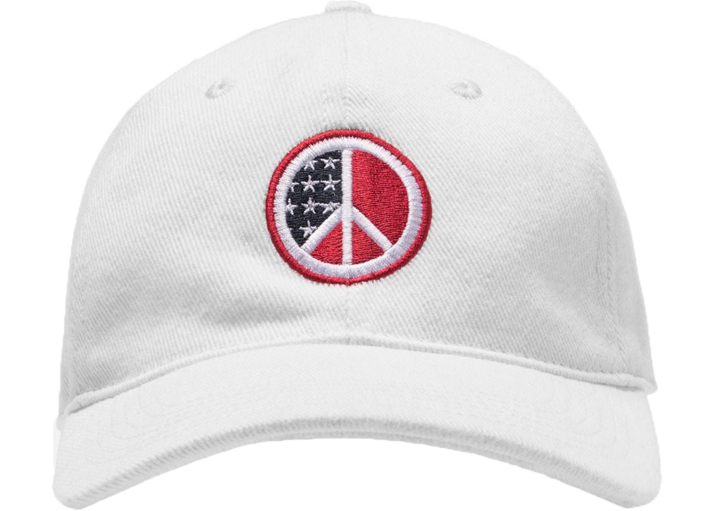 fac21900bb1 Kith Coca Cola Peace Cap White - SS17