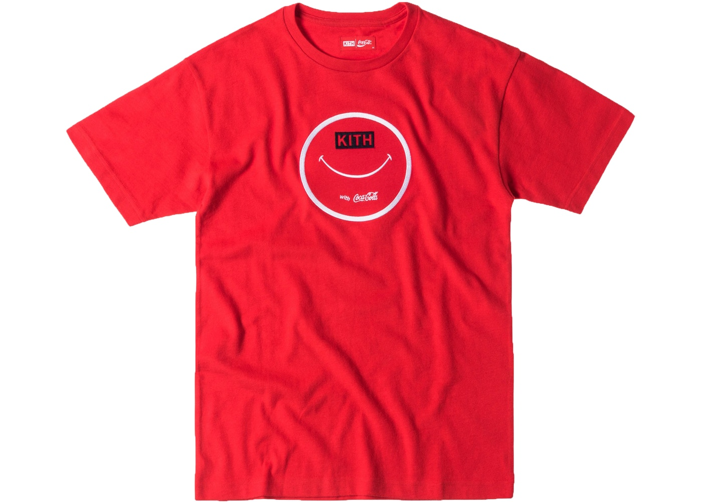 26ba7be5 Kith Coca Cola Smile With Coke Tee Red - SS17