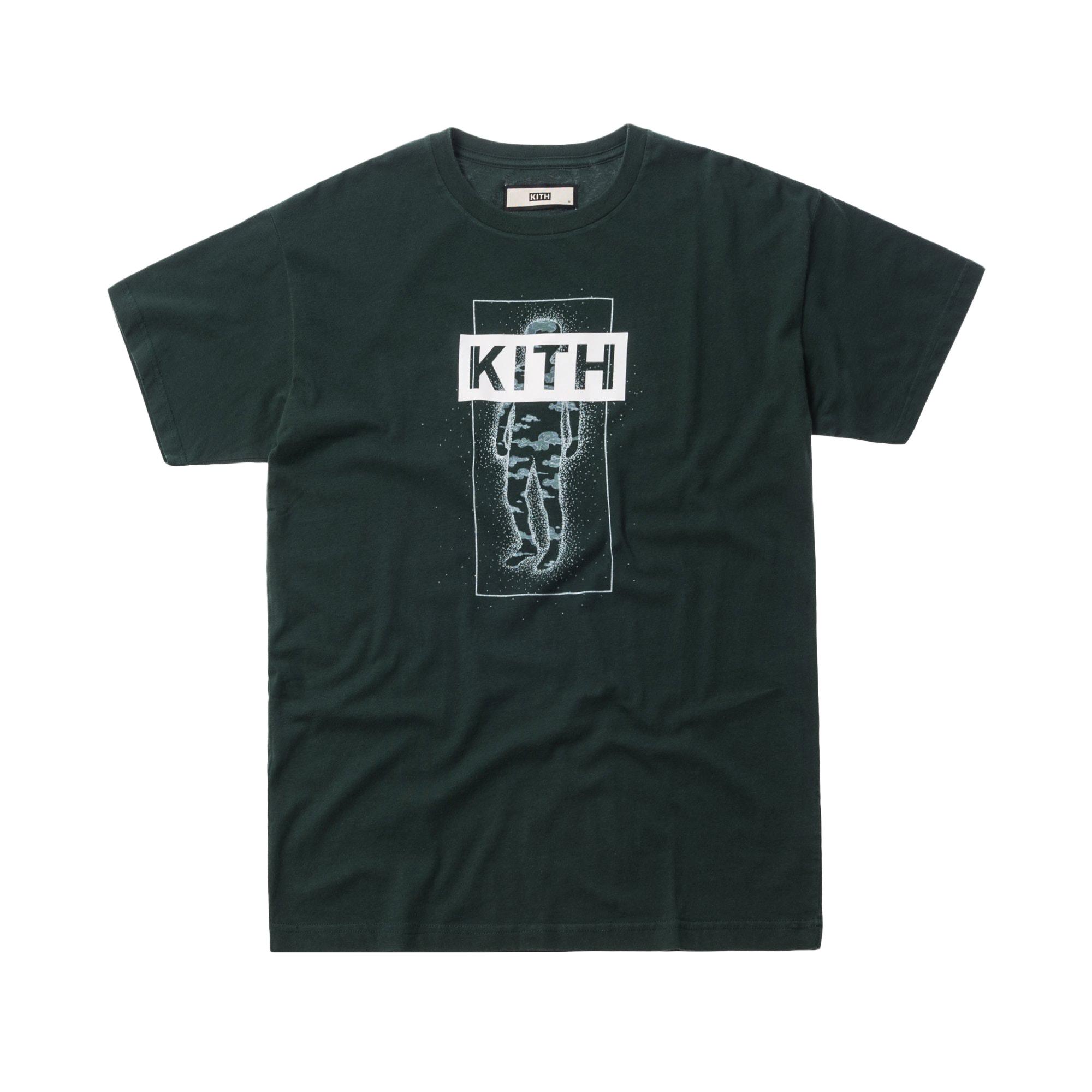 Kith Cosmic Kid Tee Hunter Green