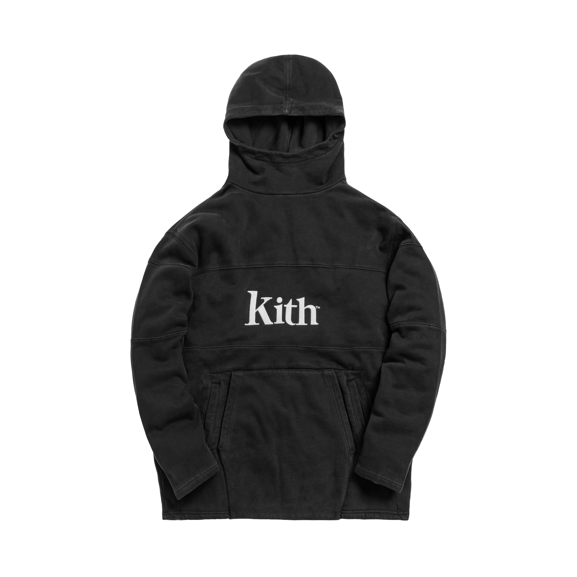 Kith Double Pocket 2 Hoodie Black