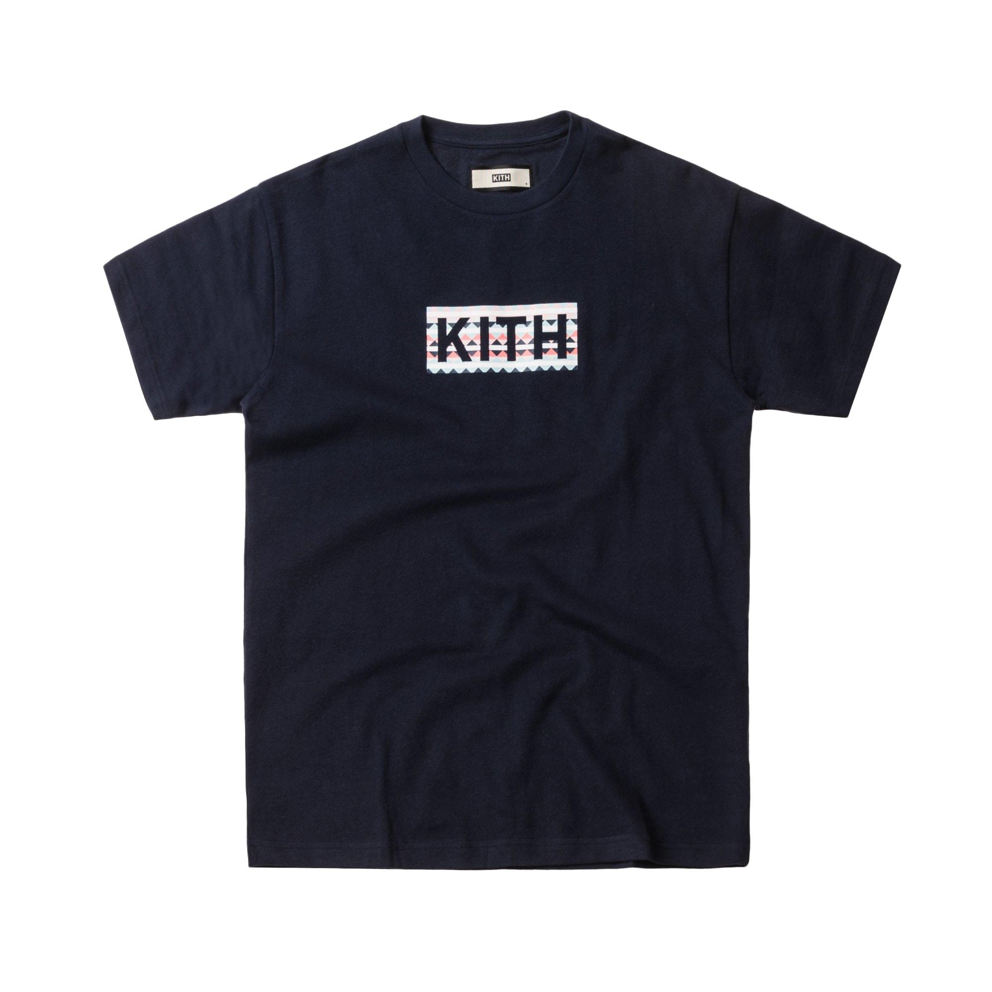 Kith EEA Classic Logo Tee Navy