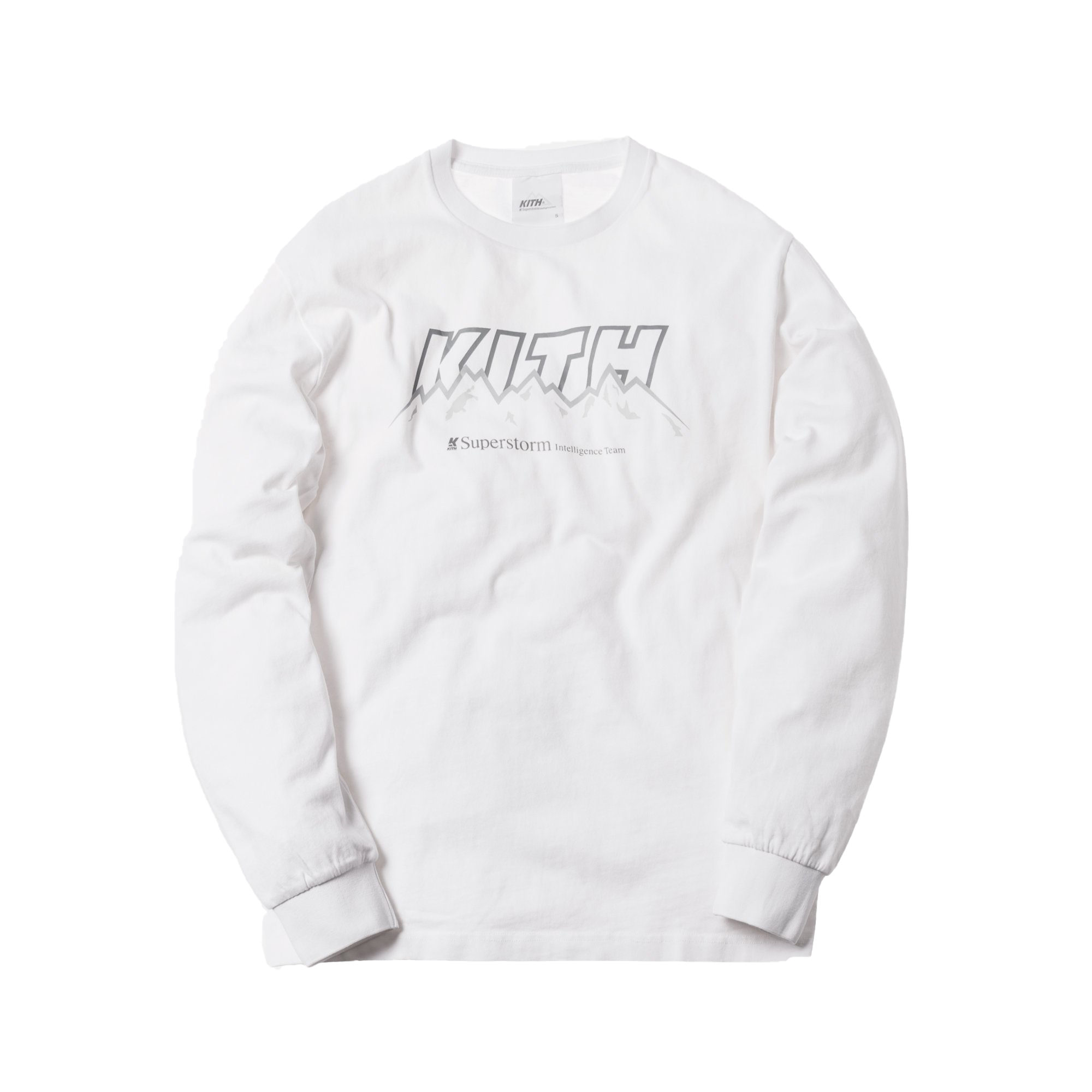 Kith Elevation L/S Tee White