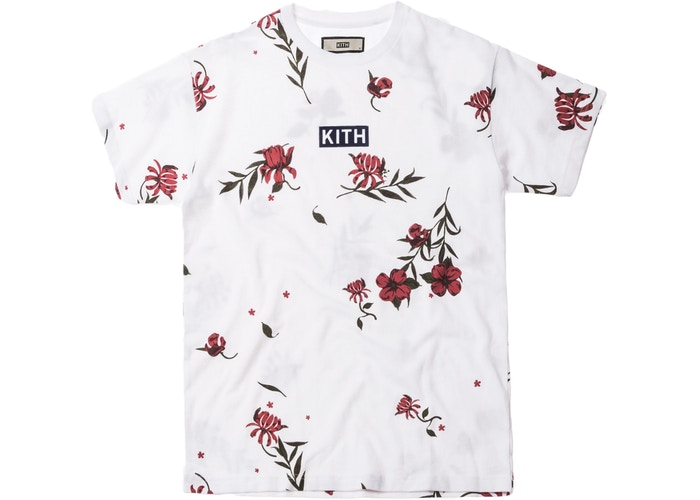 27c3efaa WTB] Kith Floral Classic Logo Tee (red or blue) size Medium : KithNYC