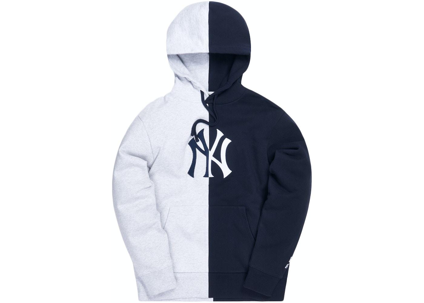 Kith For Major League Baseball New York Yankees Split Hoodie Multi Fw20