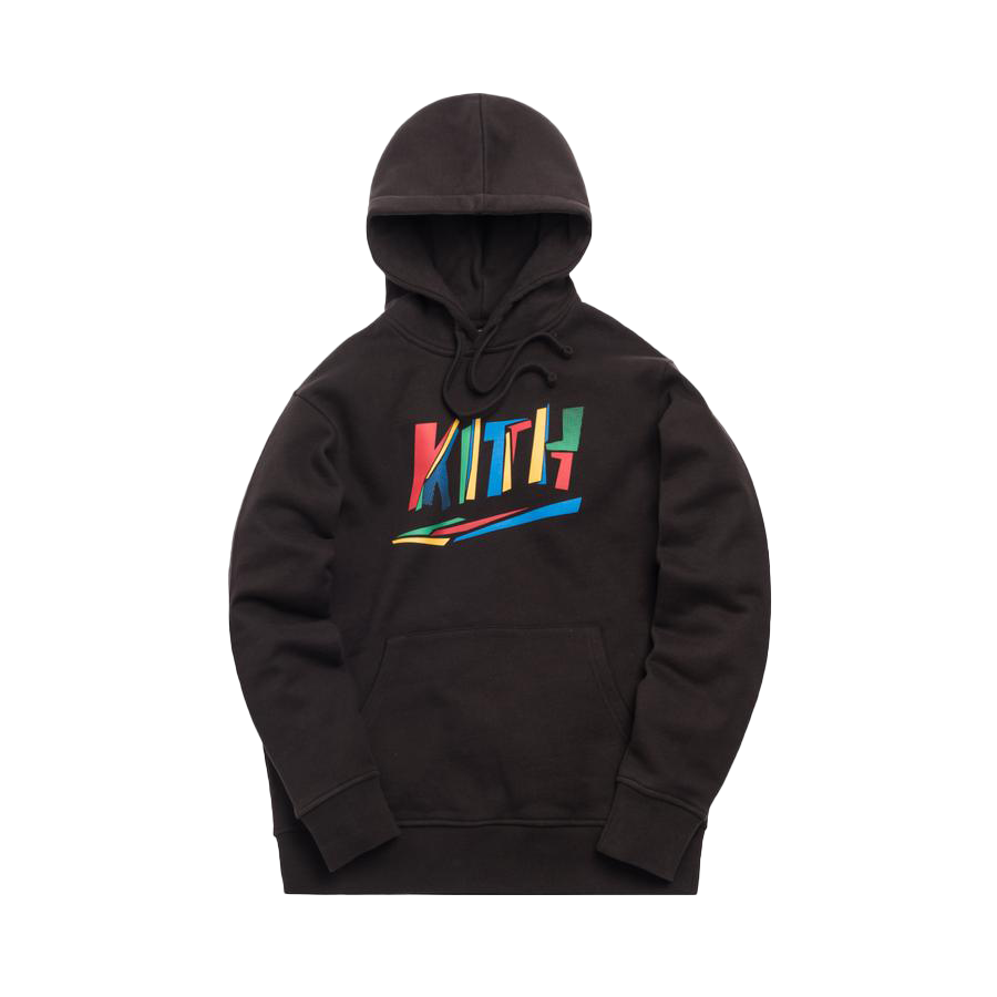 Kith Fractured Hoodie Espresso