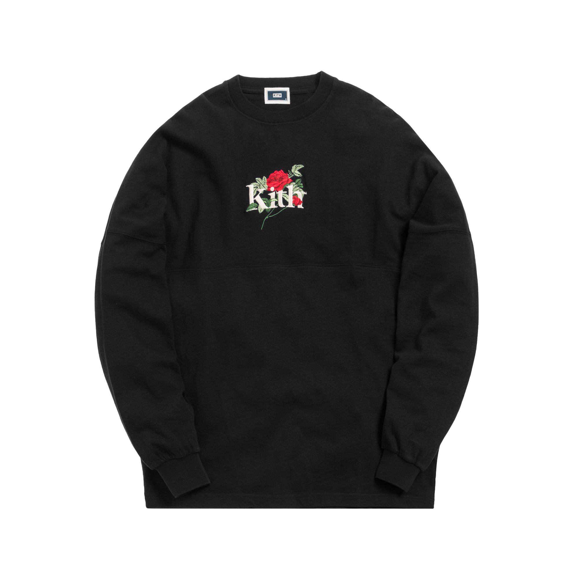 Kith Gardens Of The Mind L/S Tee Black