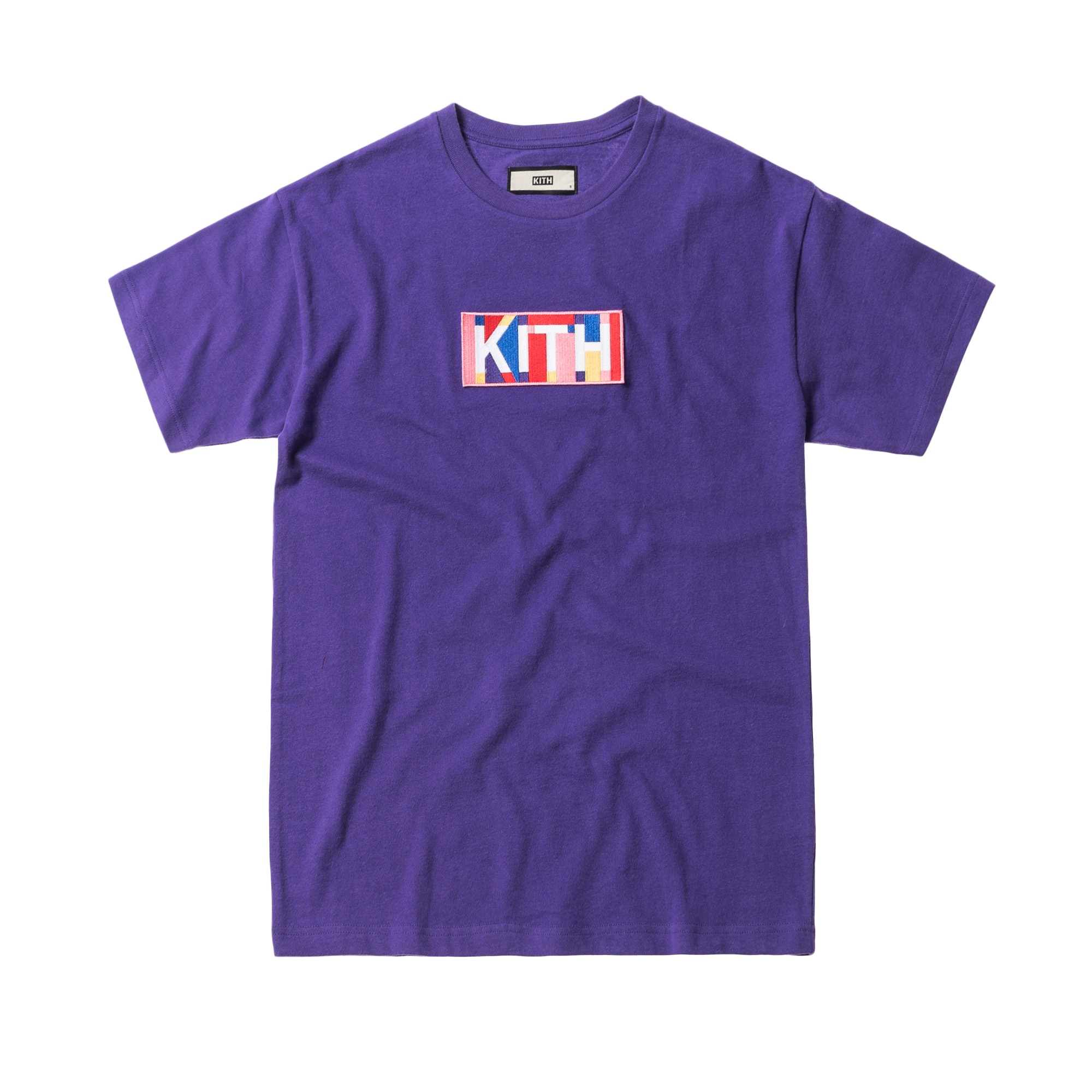 Kith Geo Colors Tee Purple