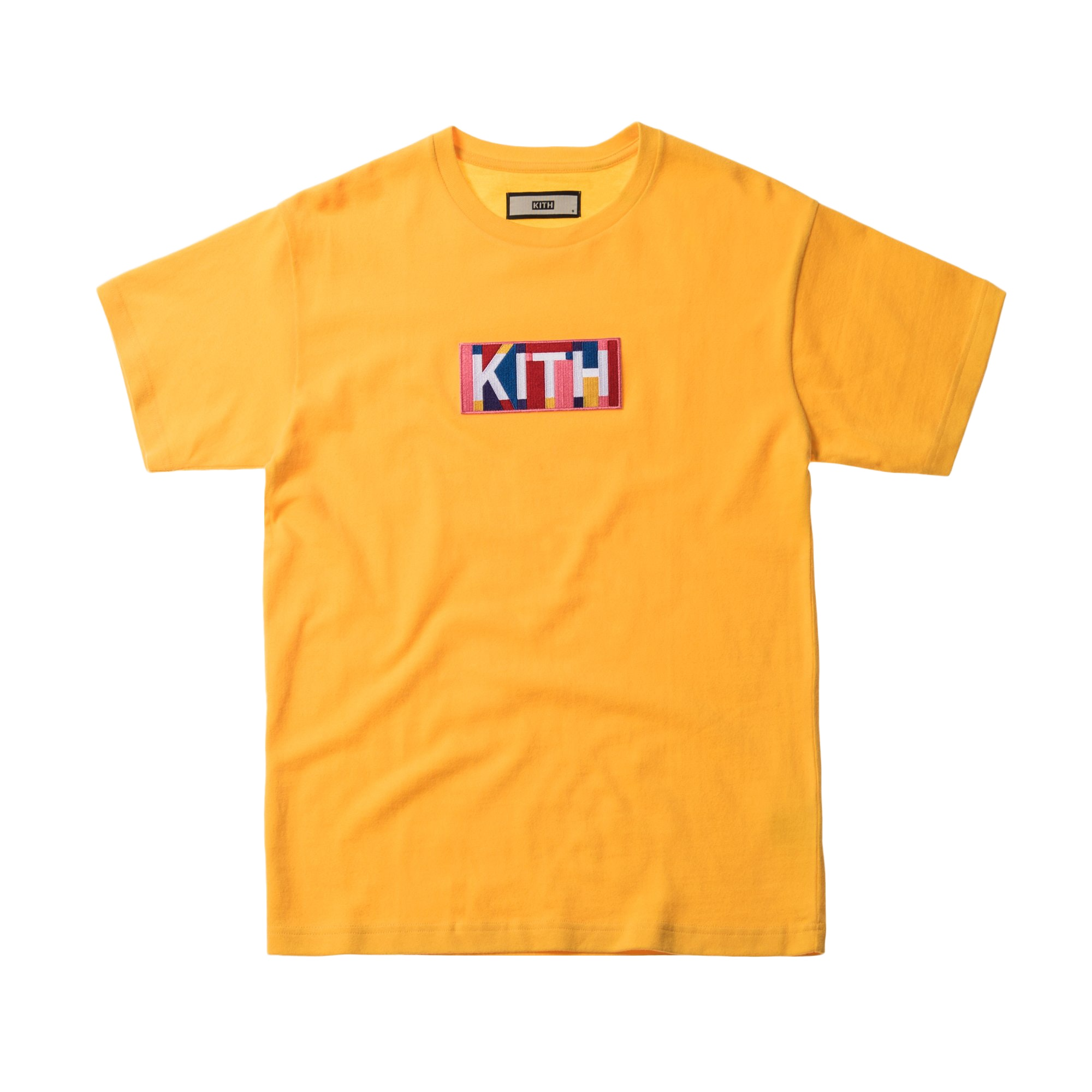 Kith Geo Colors Tee Yellow