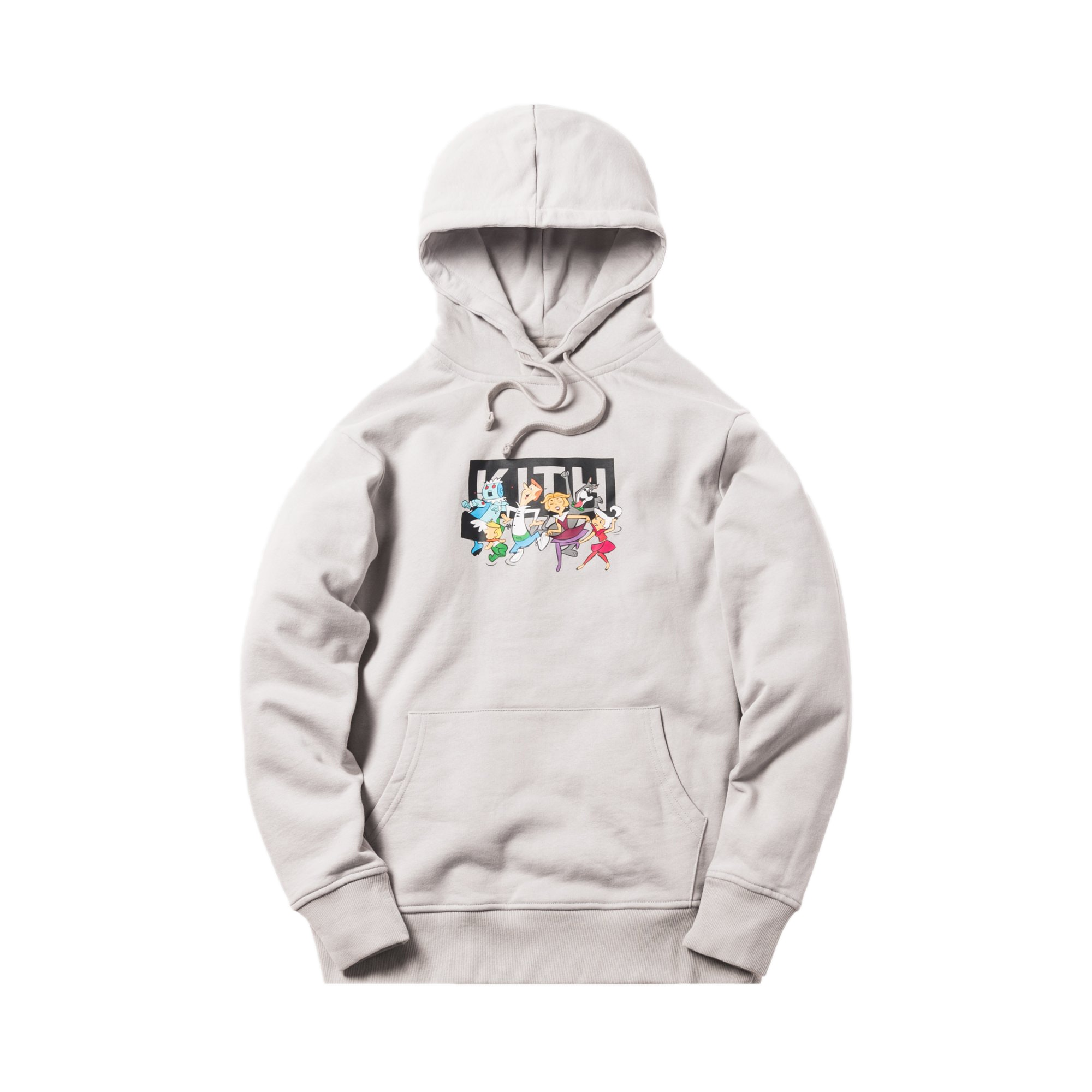 Kith Jetsons Family Hoodie Grey