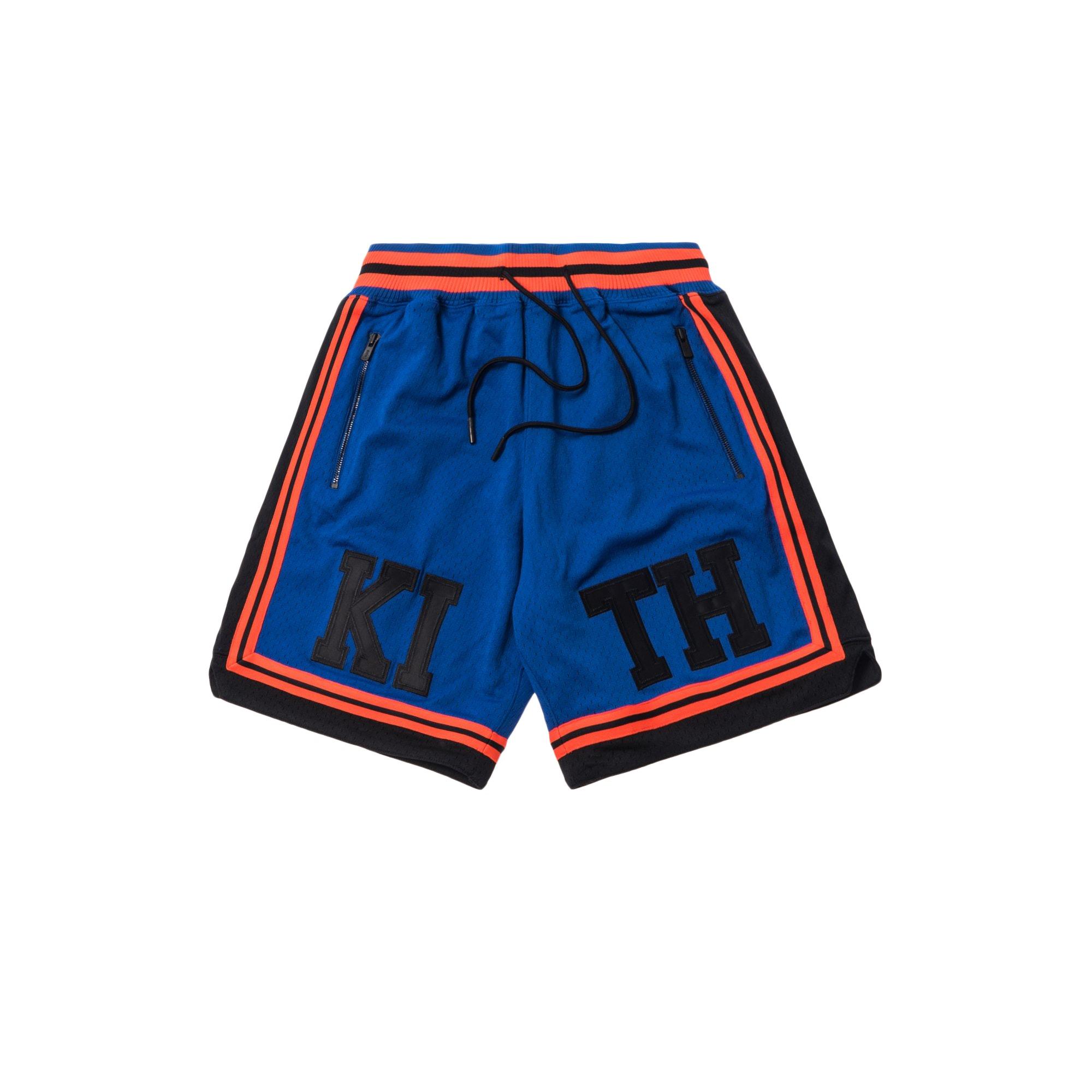 Kith x Mitchell & Ness Basketball Short New York