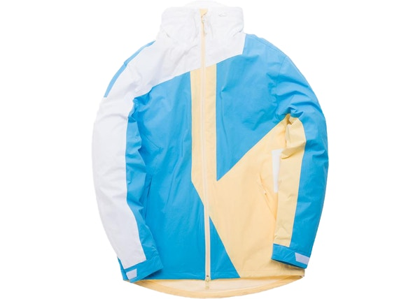 7f14a3087bda3 Kith Madison Jacket Sky Blue Pale Yellow White