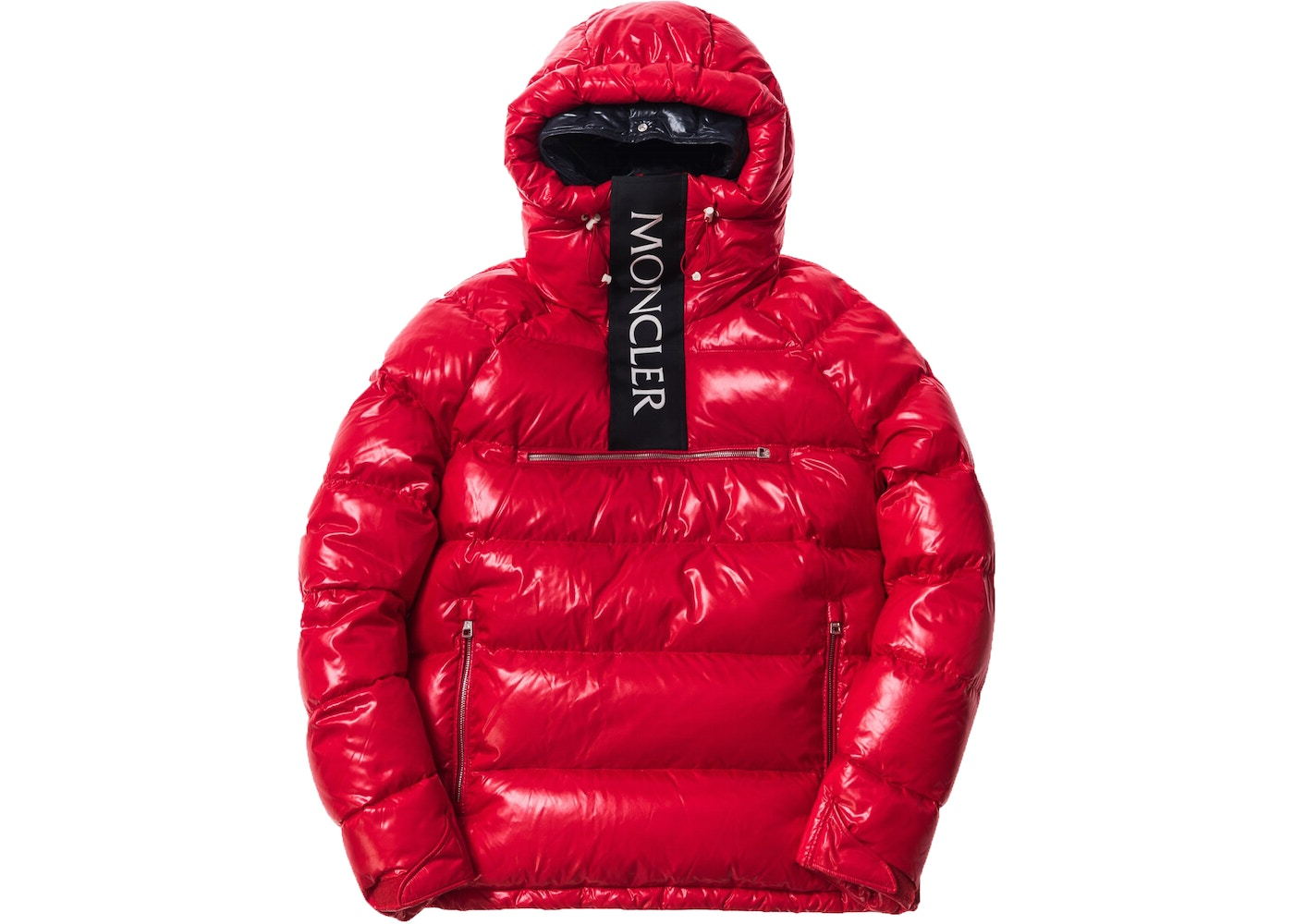 0a65e1c86 Kith Moncler Lachat Down Hoodie Red - FW17