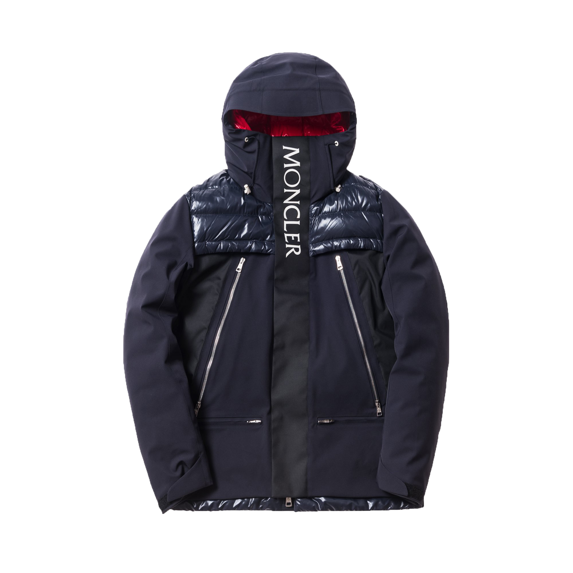 moncler long down jacket