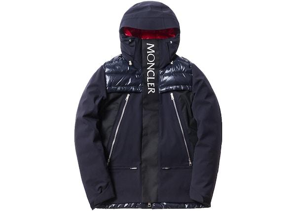 Kith Moncler Parrachee Long Down Jacket Navy