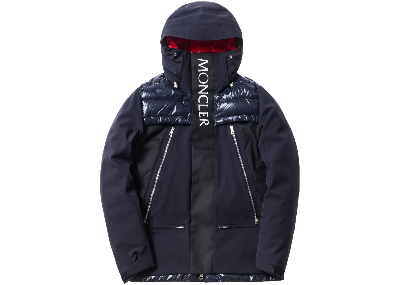 c17a1adb4f5 Kith Moncler Parrachee Long Down Jacket Navy - FW17