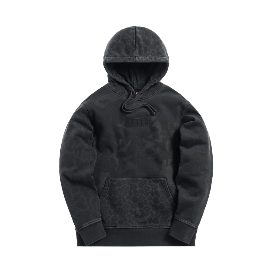 Kith Multi-Camo Williams Hoodie Black Camo