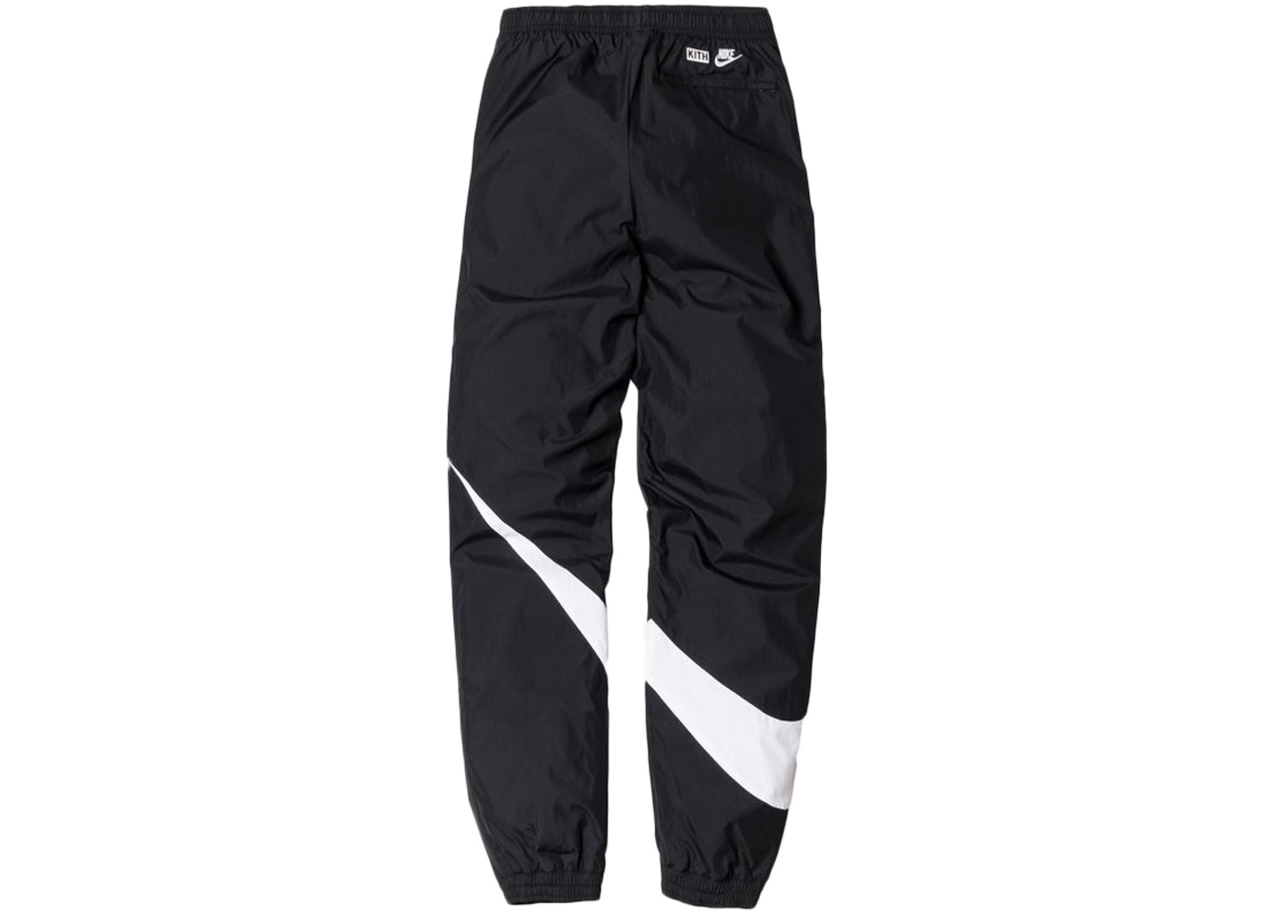 24f9d977403e Kith Nike Big Swoosh Pants Black - FW17