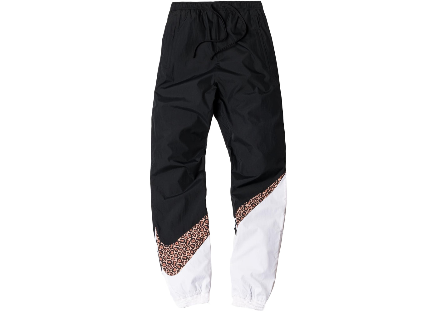 02b99e00eb07 Kith Nike Big Swoosh Pants Black White - FW17