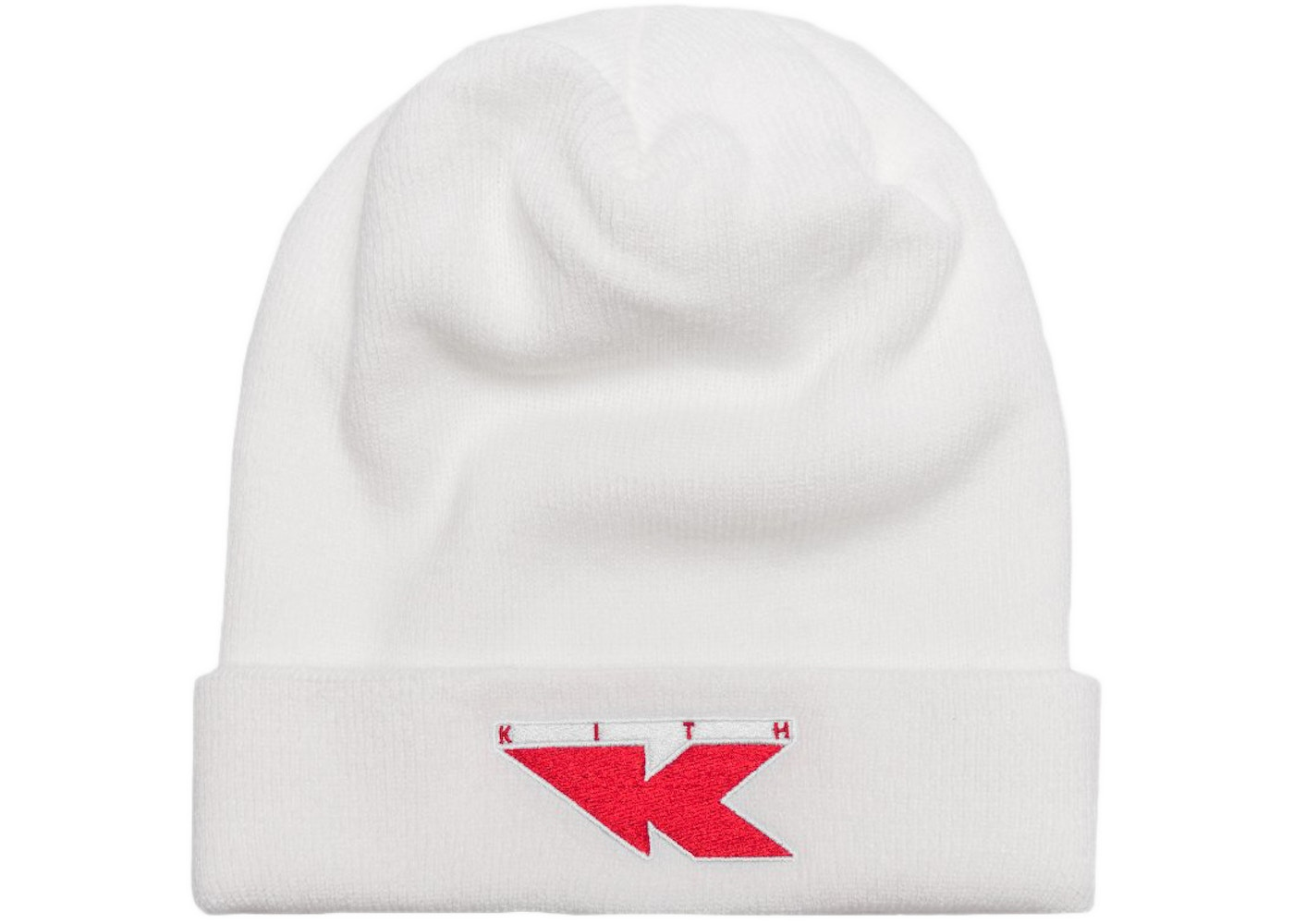 b129bf01b383d4 Kith Nike Flight Beanie White. Nike Flight