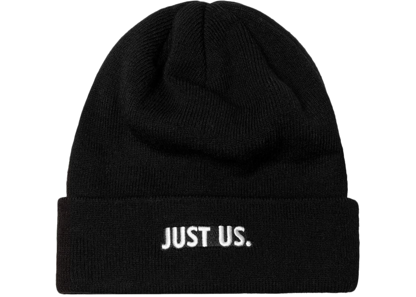 165d8a22dc9613 Kith Nike Just Us Beanie Black - FW17