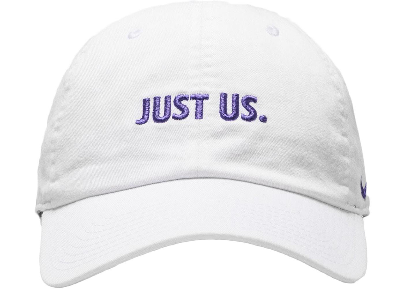 Kith Nike Just Us Cap White - FW17 89e1f2145d8