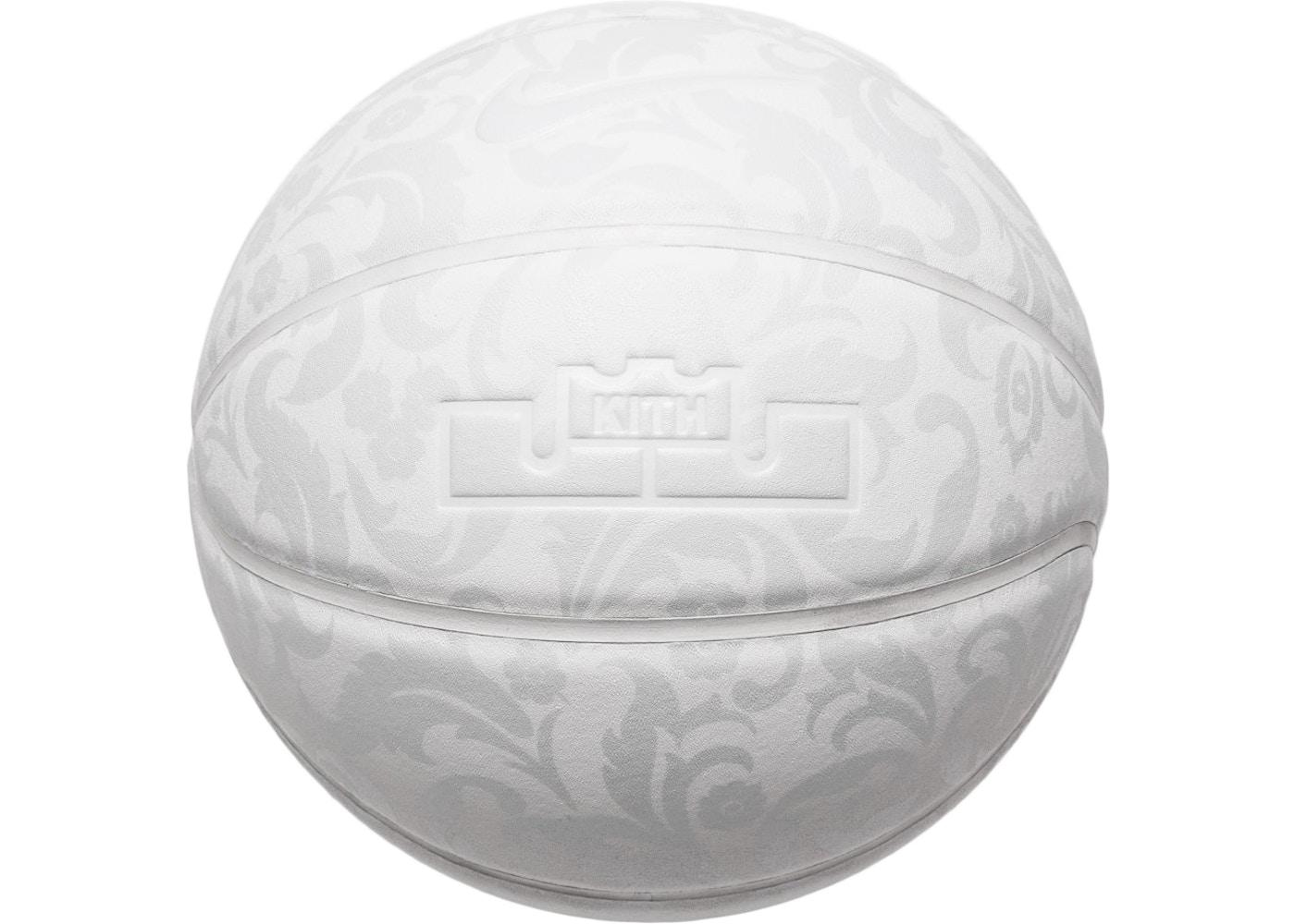 best website 445af ac1d1 Kith Nike LeBron Cloak Basketball Triple White
