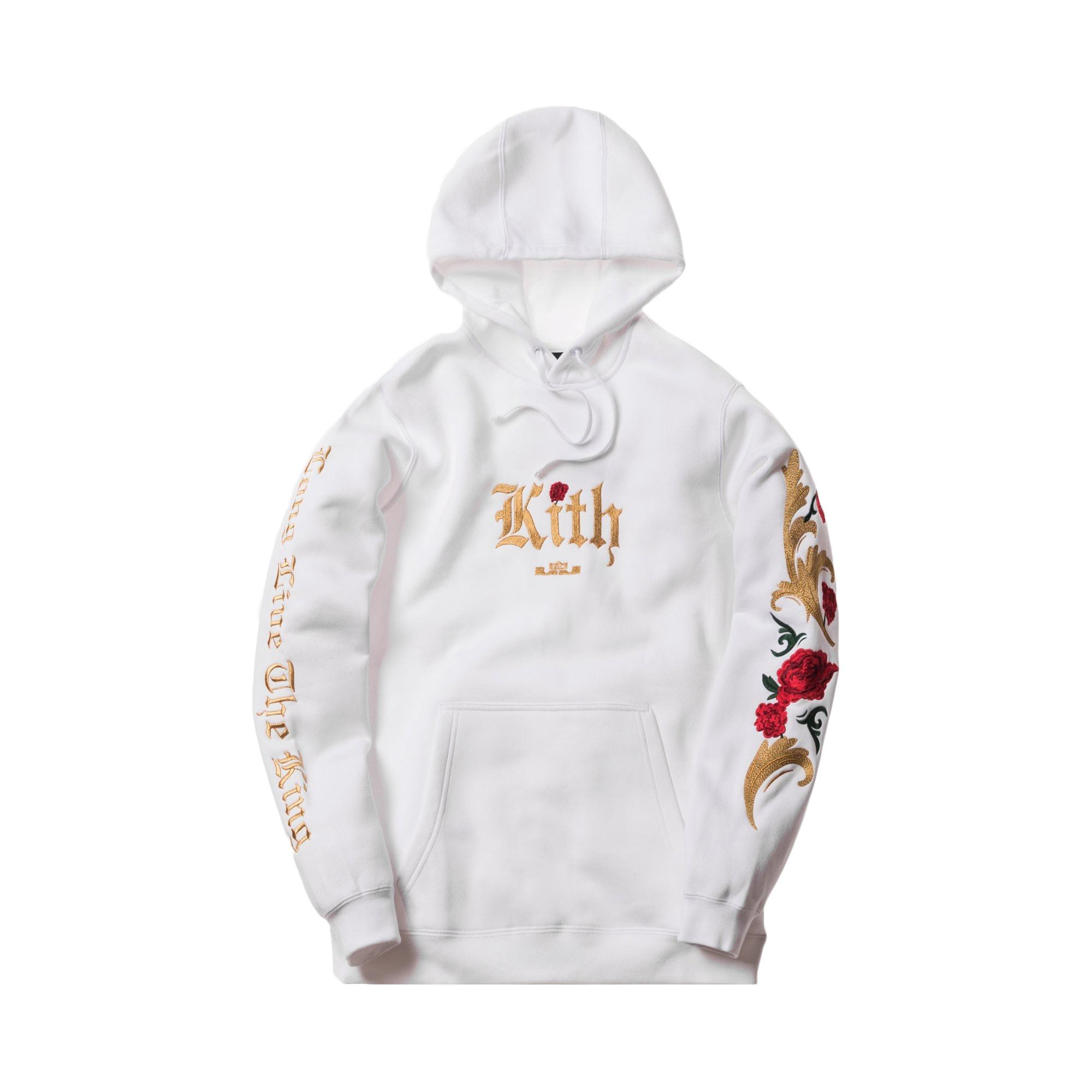 Kith Nike Lebron Cloak Hoodie White/Multi