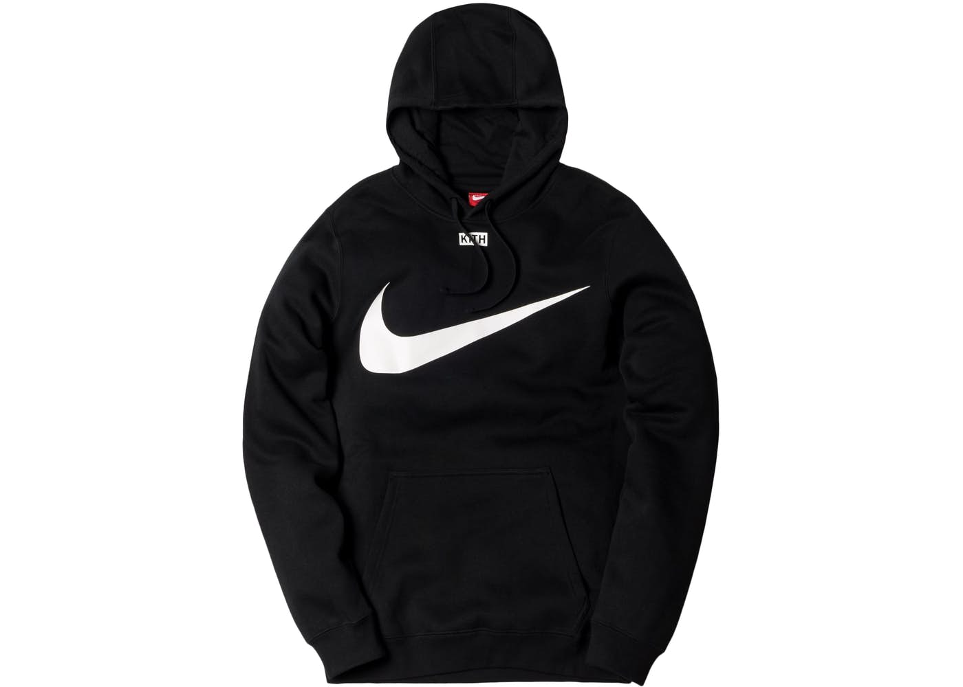 Kith Nike Swoosh Hoodie Black