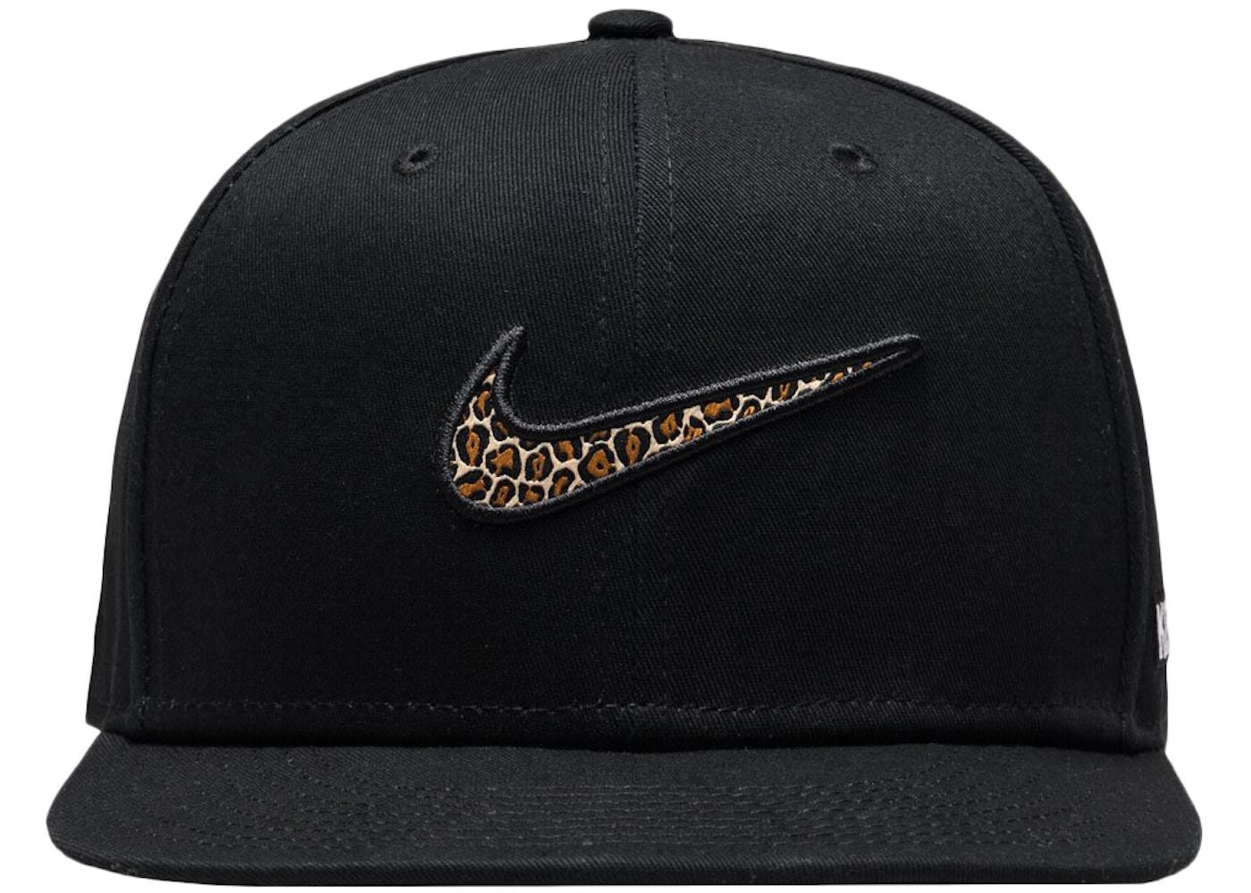 Kith Nike Swoosh Snapback Black - FW17 e1e89106b4d