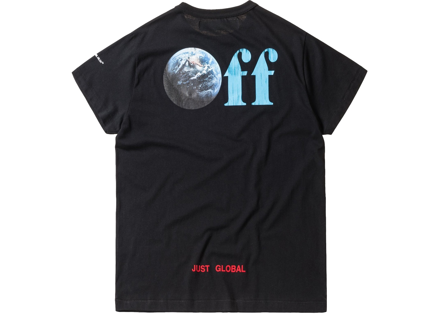 3bed511a Kith Off-White Just Global Tee Black - FW17