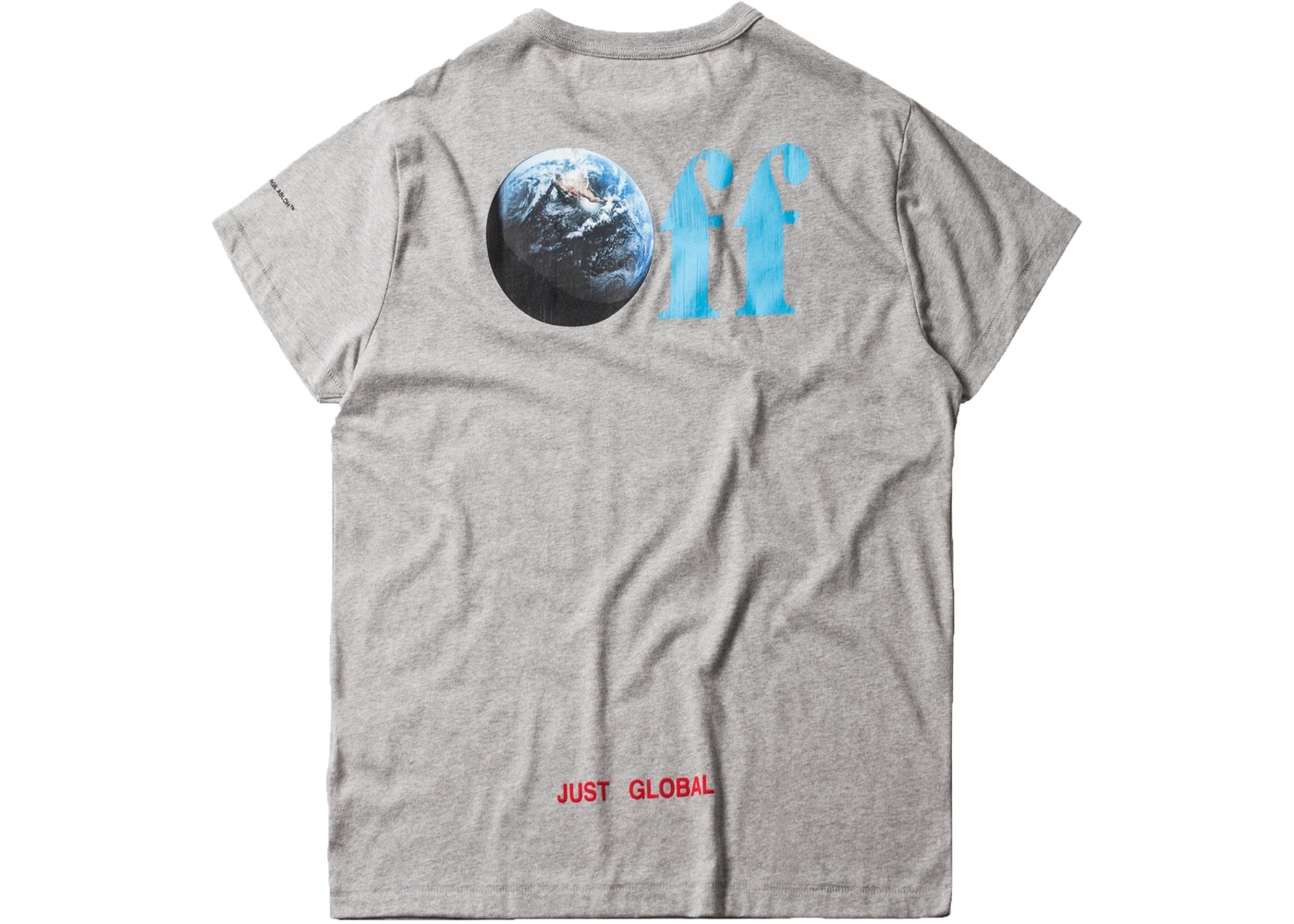01b9777f68f0 Kith Off-White Just Global Tee Melange Grey - FW17