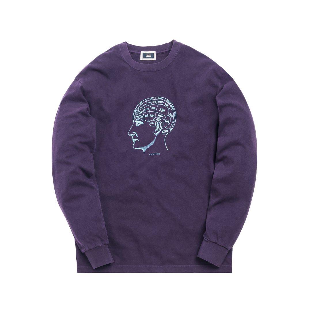 Kith On My Mind L/S Tee Purple